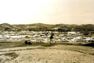 whole view of Chunyang-eup in 1960...